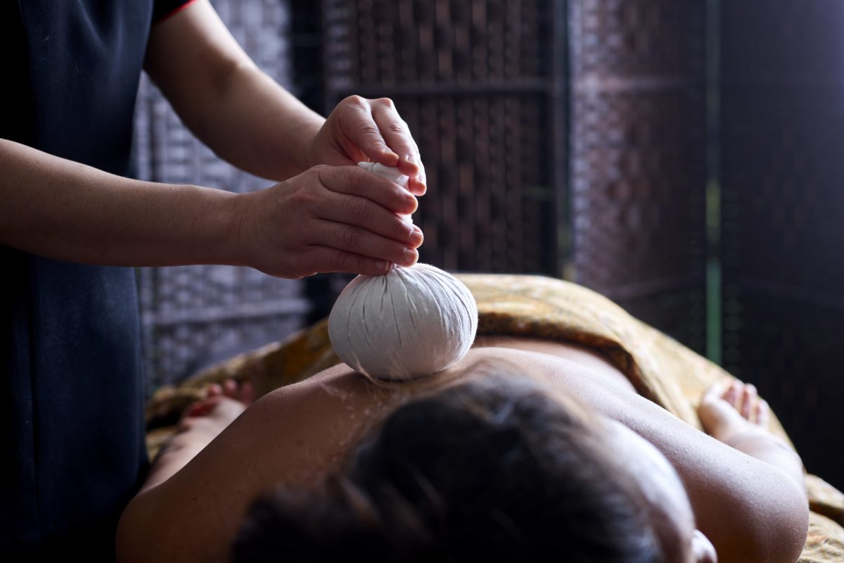 Thai Herbal Poultice Back Massage at SenSpa Careys Manor