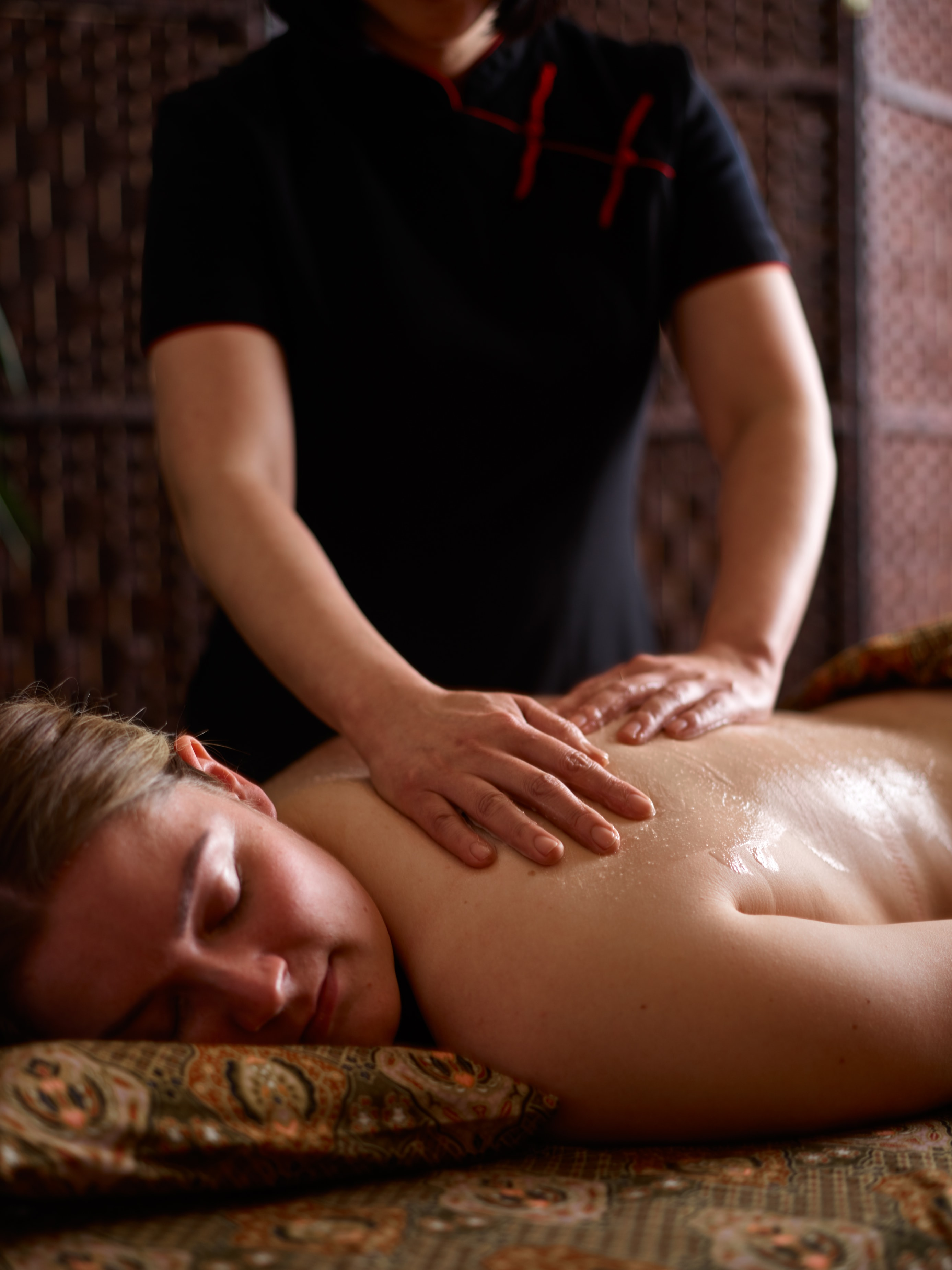 A swedish style spa massage completes this treatment to relax the mind and body.