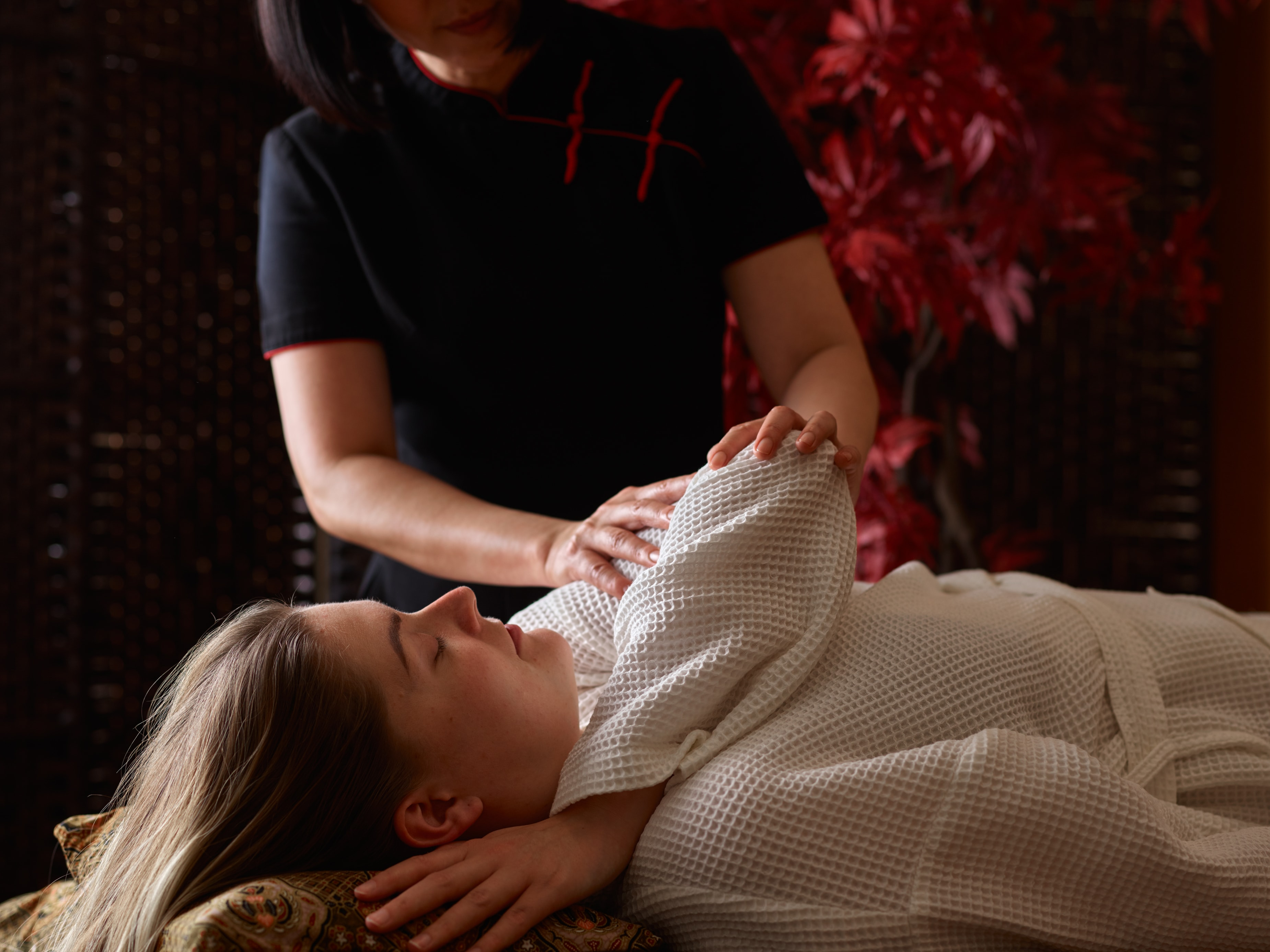 Tension Reliever Massage - a mini massage for those short of timeq