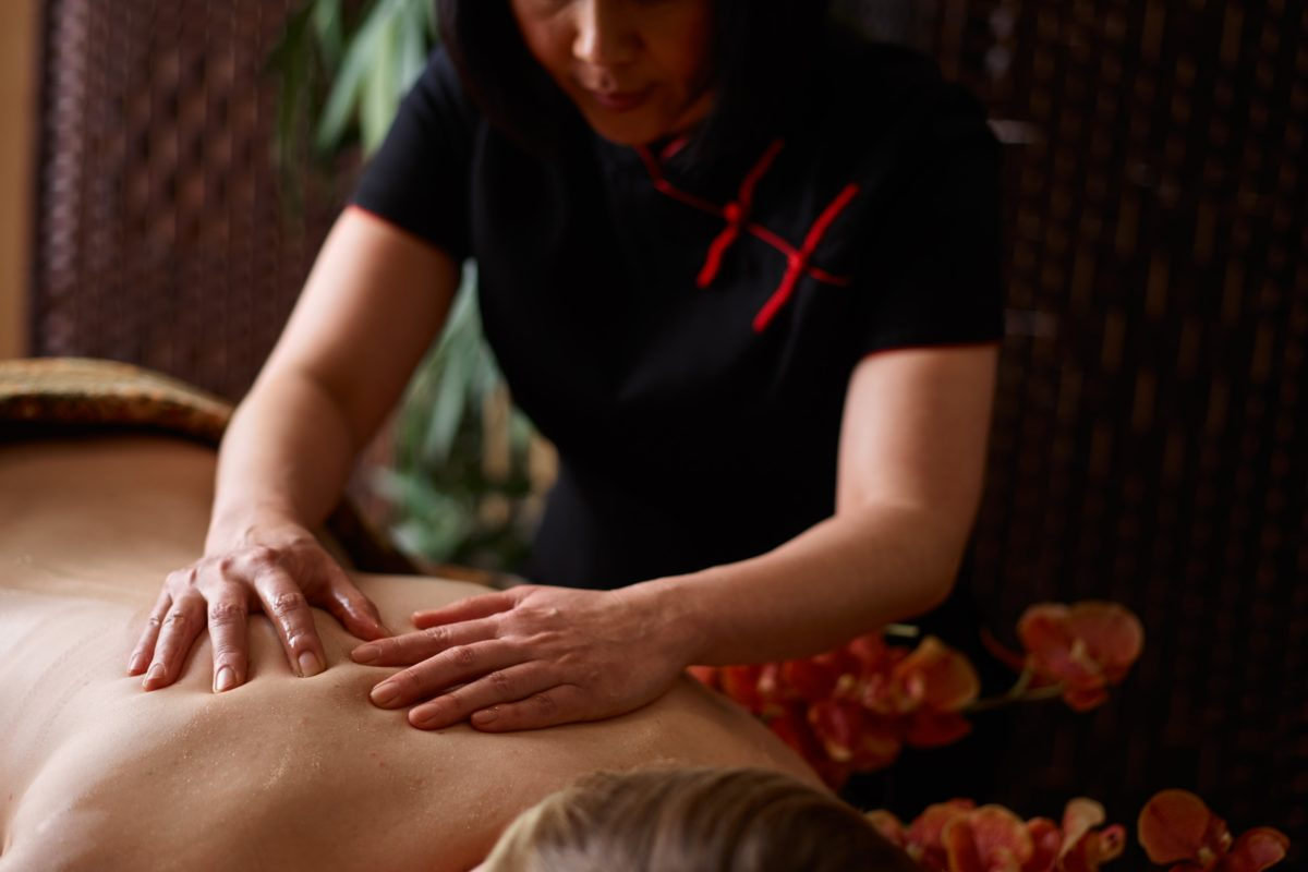 Anti-Stress Massage - This spa massage works across the back, neck and shoulders to correct and relieve any muscular tension.