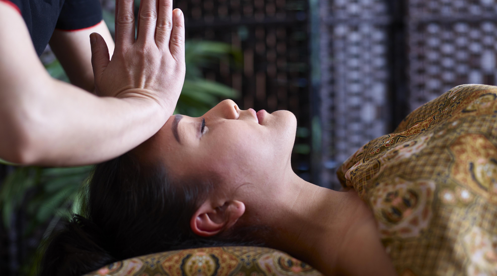 A lady experiencing authentic Thai massage at SenSpa