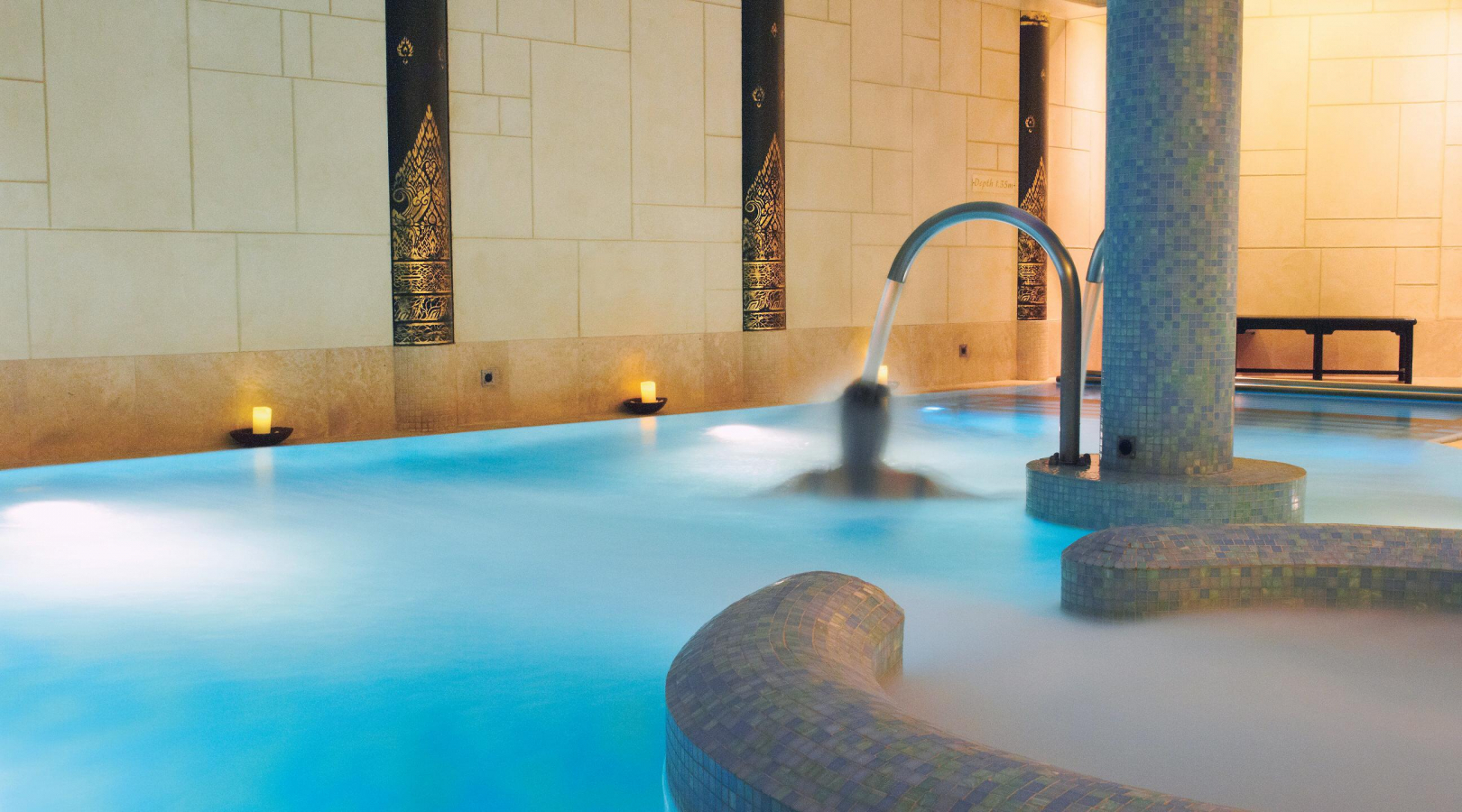 Spa Facilities at the award-winning SenSpa Spa New Forest